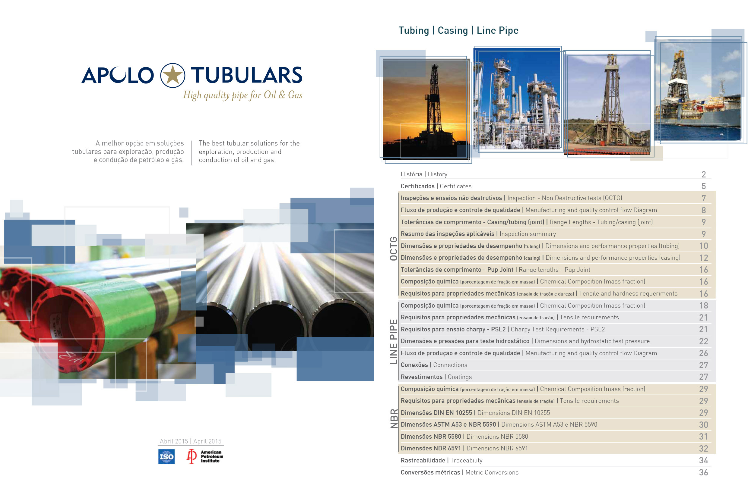 Catalogo Apolo Tubulars